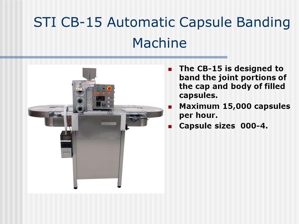 STI CB-15 Automatic Capsule Banding Machine