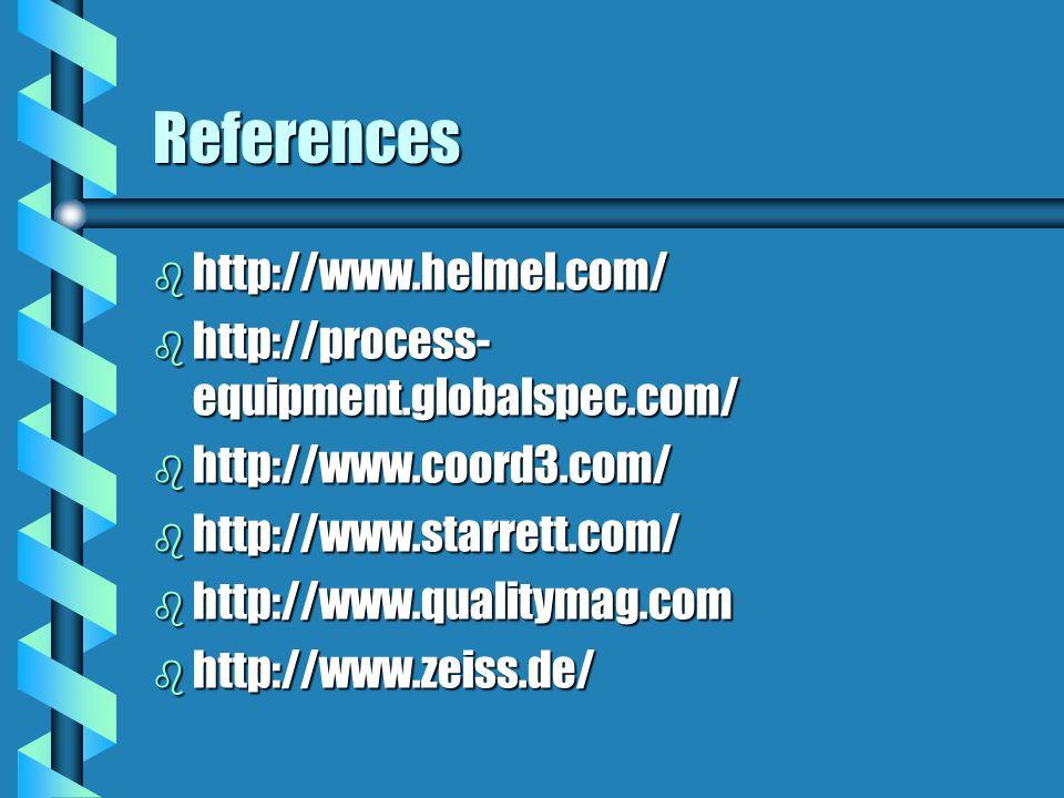 References http://www.helmel.com/