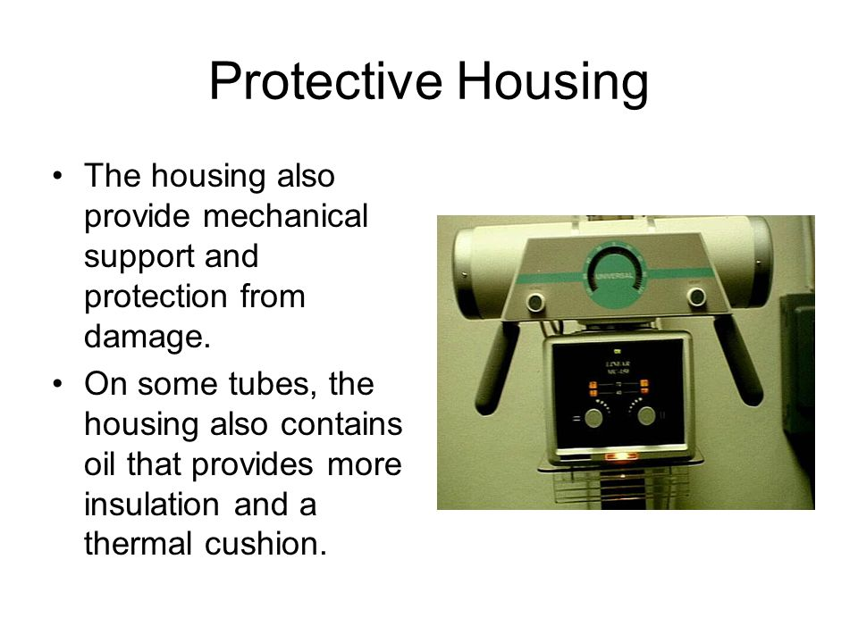 Protective Housing The housing also provide mechanical support and protection from damage.