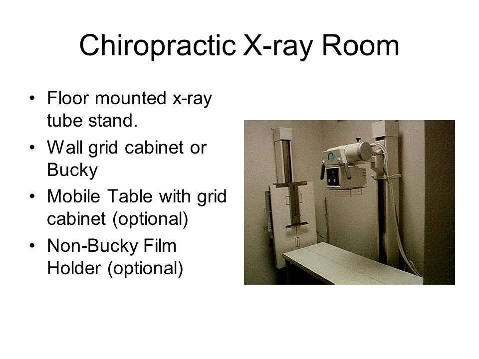 chiropractic x machine