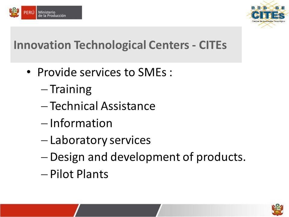 Innovation Technological Centers - CITEs