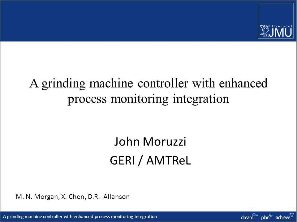 John Moruzzi GERI / AMTReL