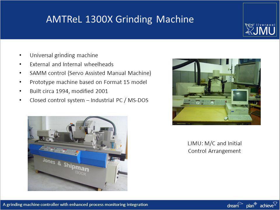 AMTReL 1300X Grinding Machine