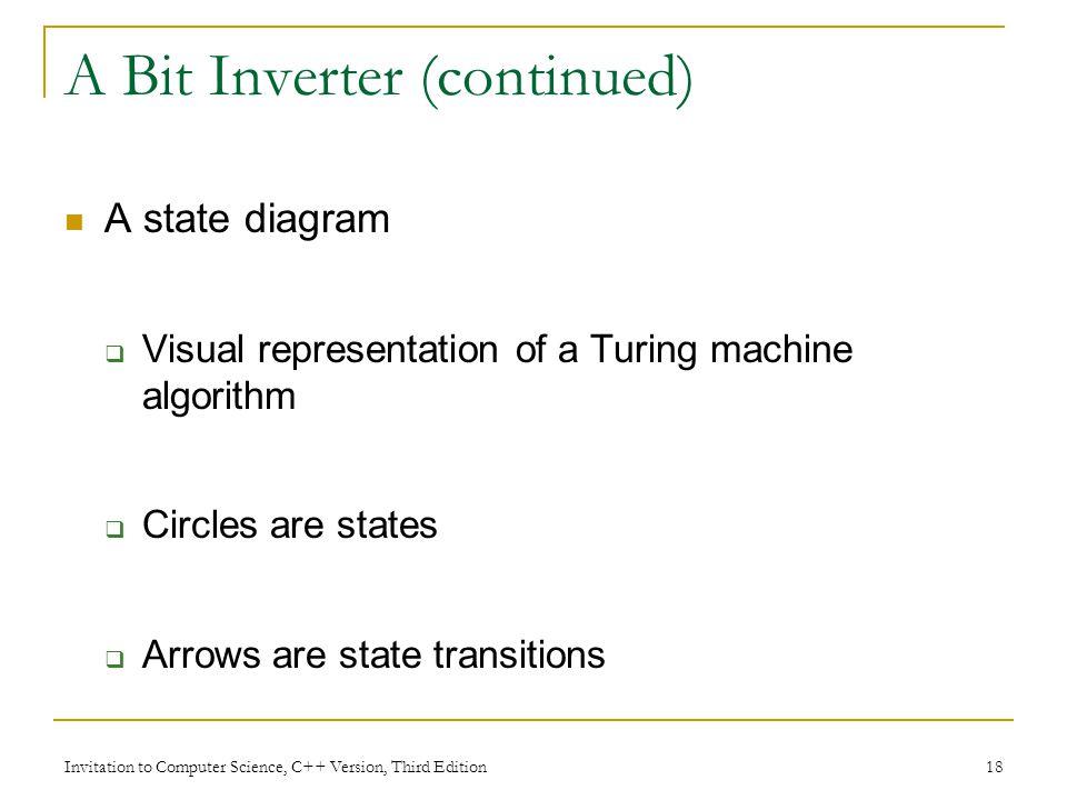 A Bit Inverter (continued)
