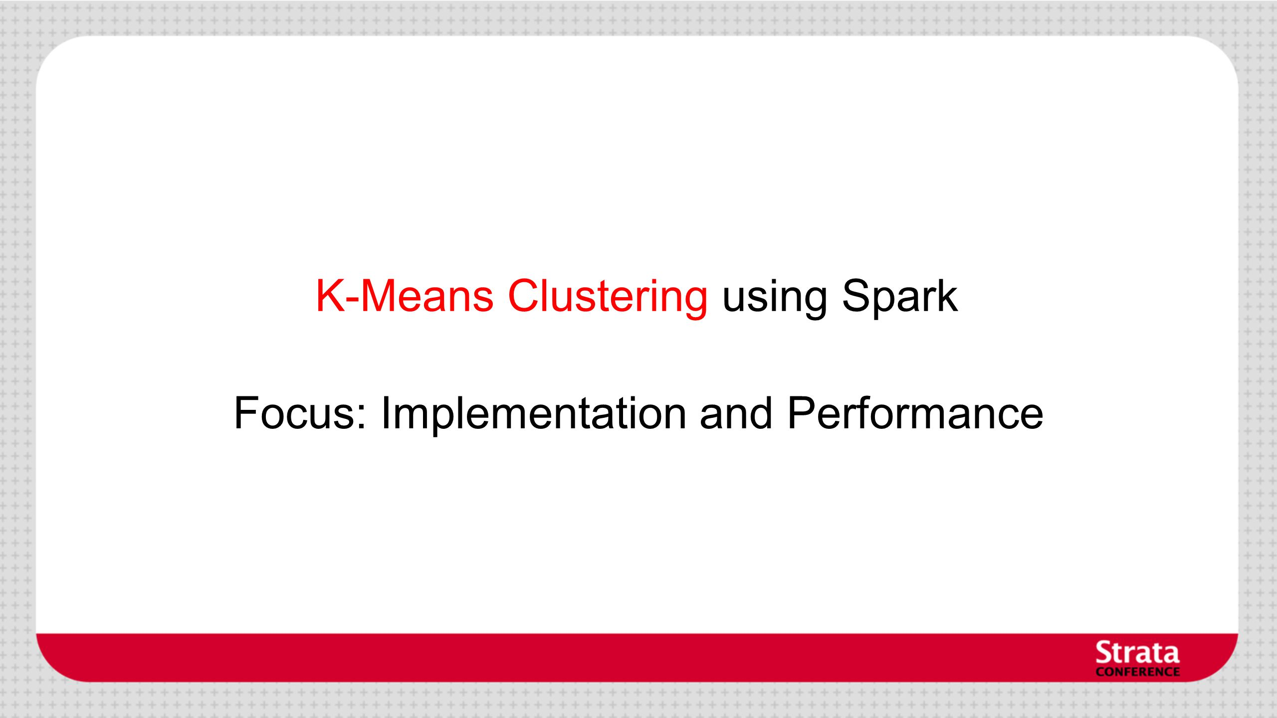 K-Means Clustering using Spark