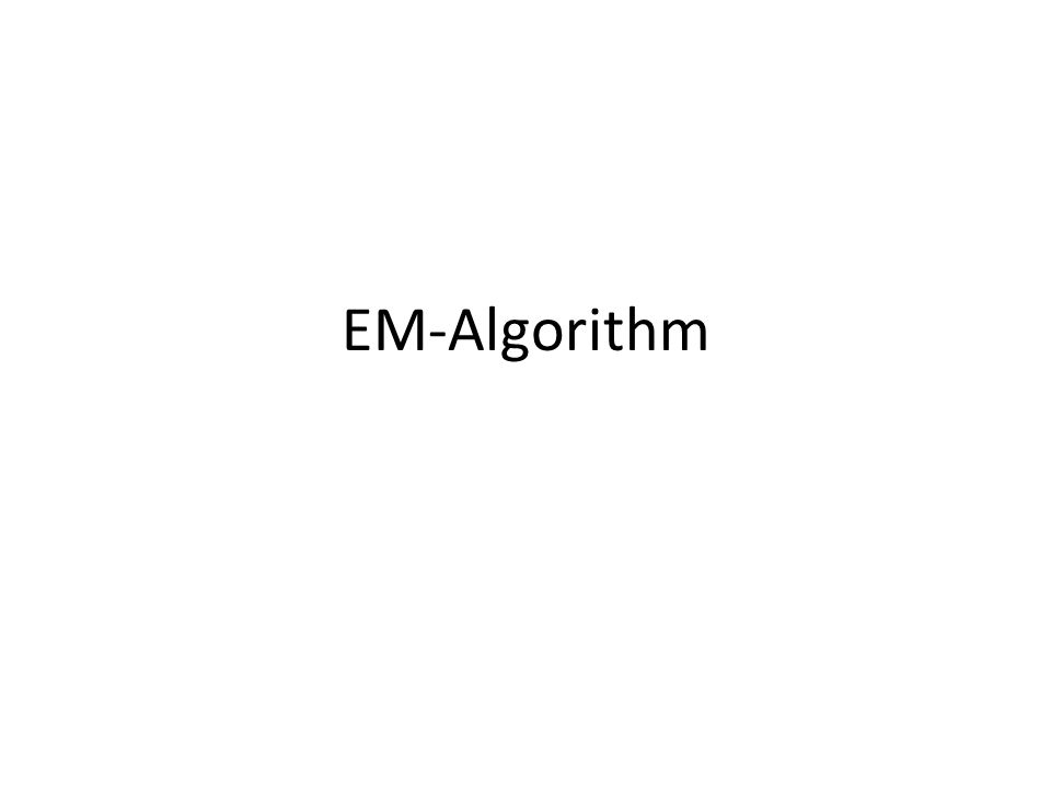 EM-Algorithm