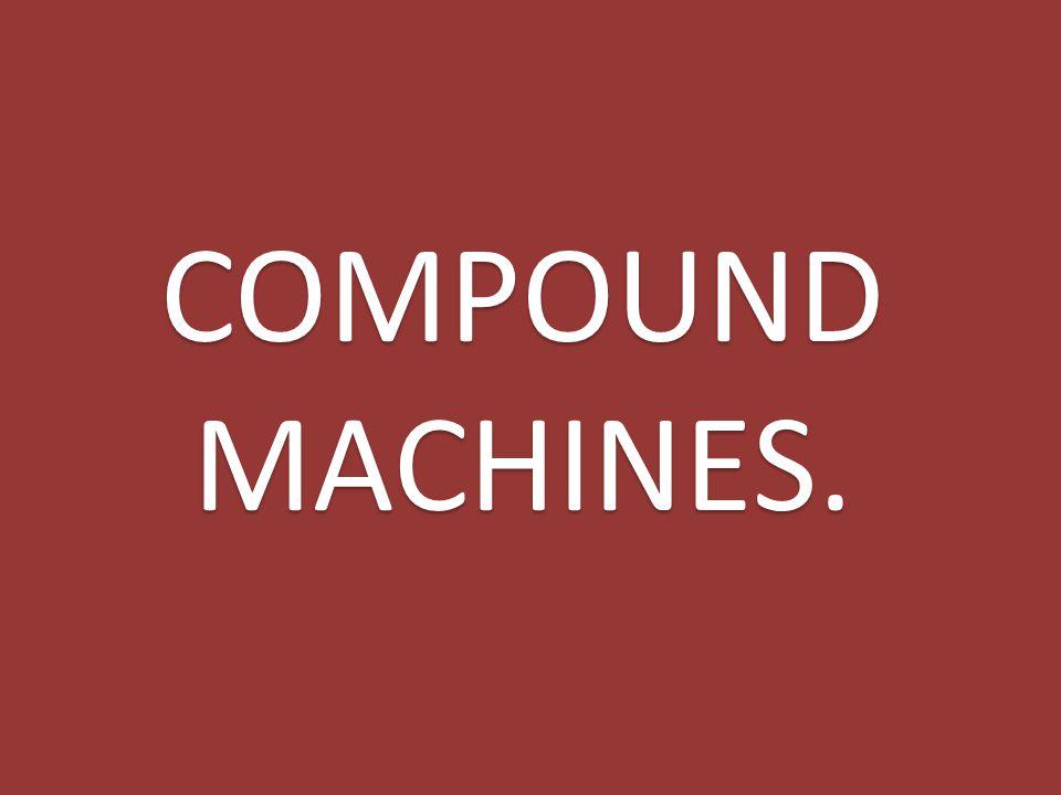 COMPOUND MACHINES.