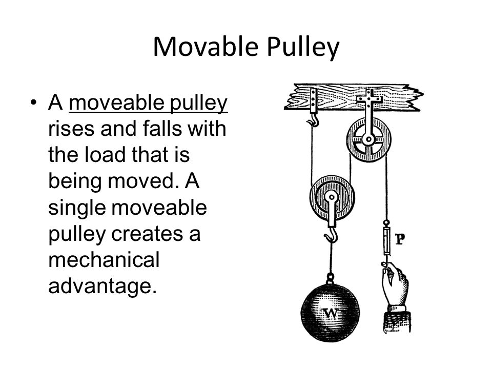 Fixed Pulley Equation : Mechanical advantage pulley increase force pictures to pin on daddy