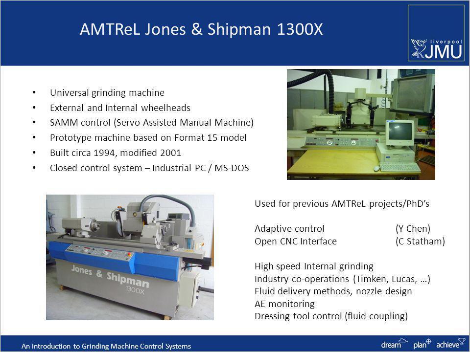 AMTReL Jones & Shipman 1300X