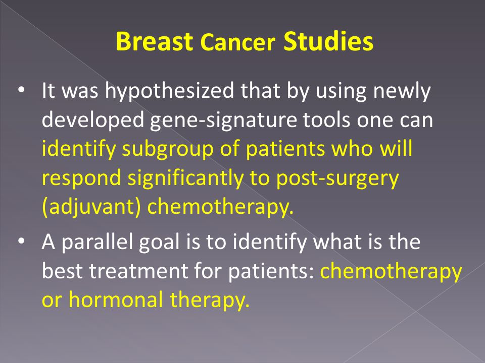 Breast Cancer Studies