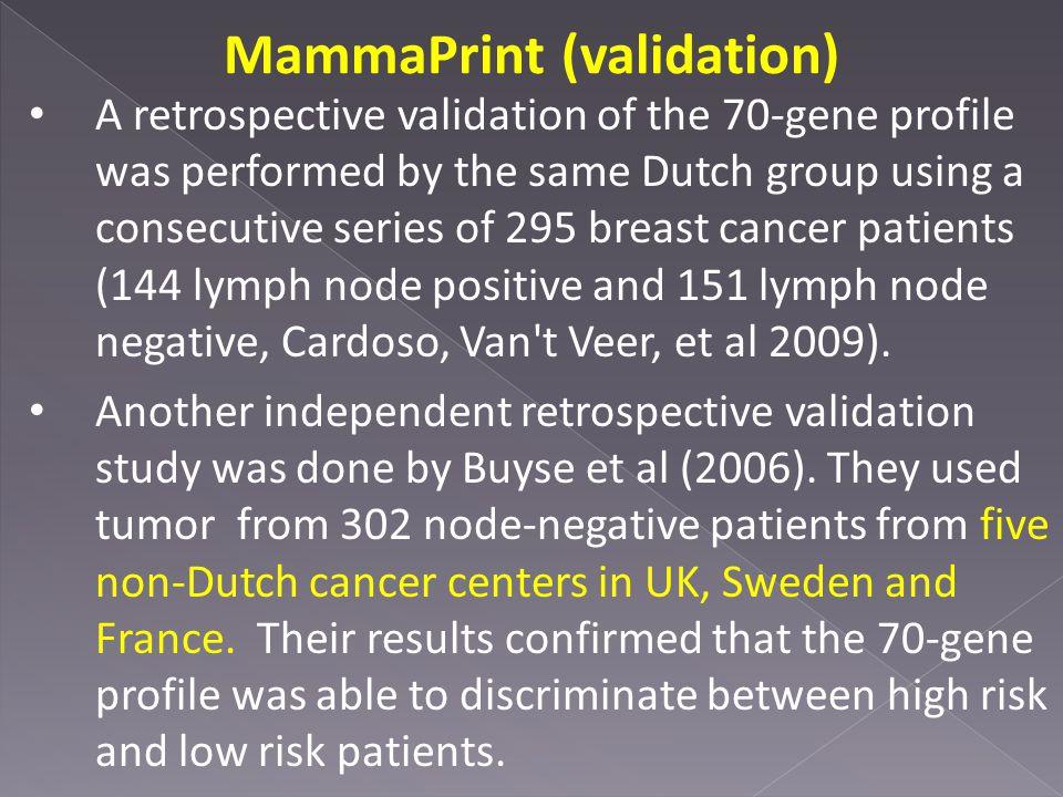 MammaPrint (validation)