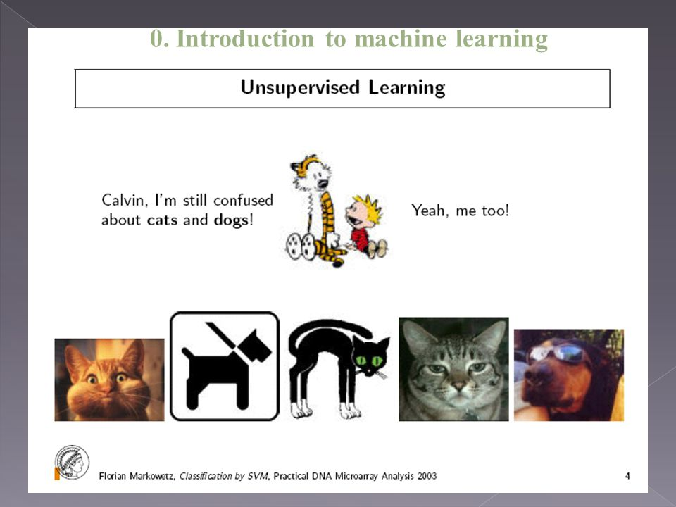 0. Introduction to machine learning