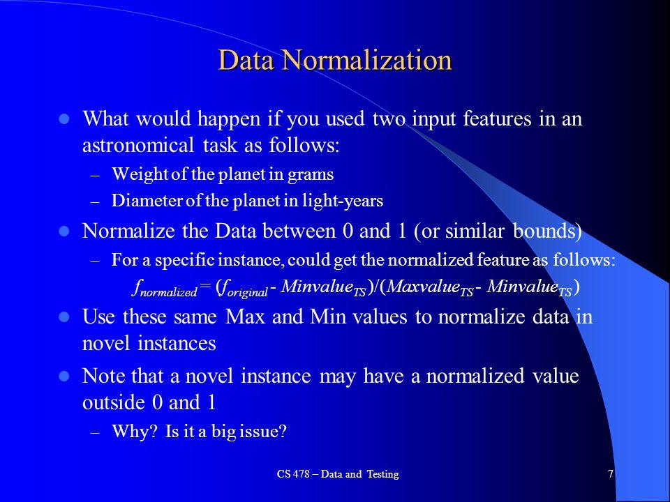 fnormalized = (foriginal - MinvalueTS )/(MaxvalueTS - MinvalueTS )
