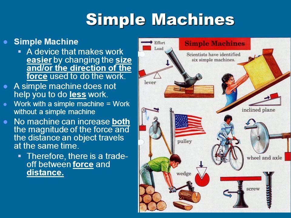 Simple Machines Simple Machine
