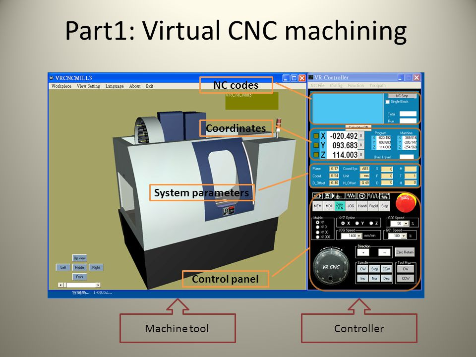 Part1: Virtual CNC machining