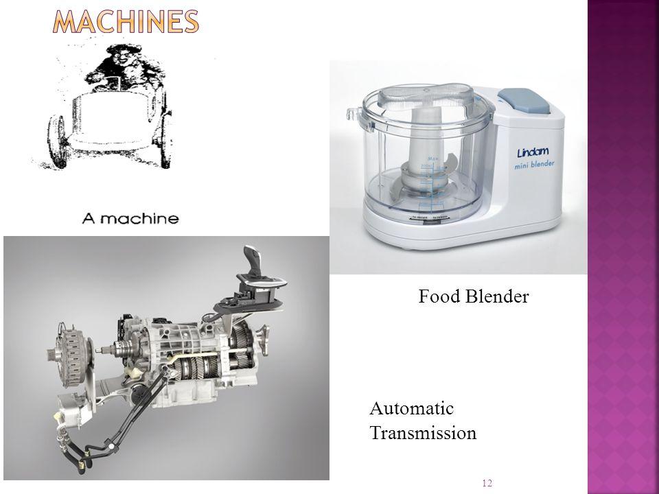 Machines Food Blender Automatic Transmission