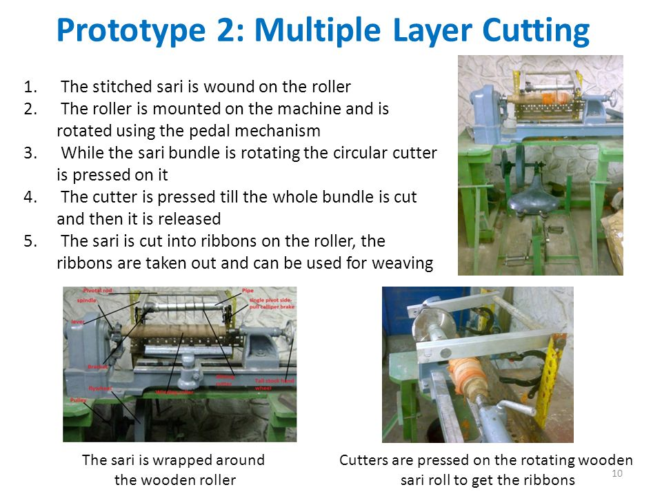 Prototype 2: Multiple Layer Cutting