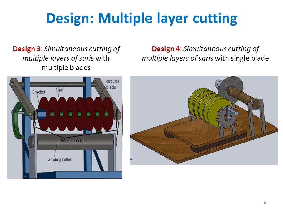 Design: Multiple layer cutting