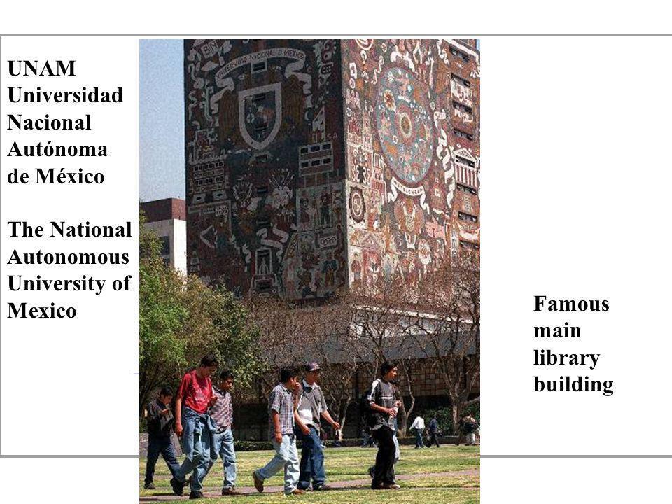 UNAM. Universidad. Nacional. Autónoma. de México.