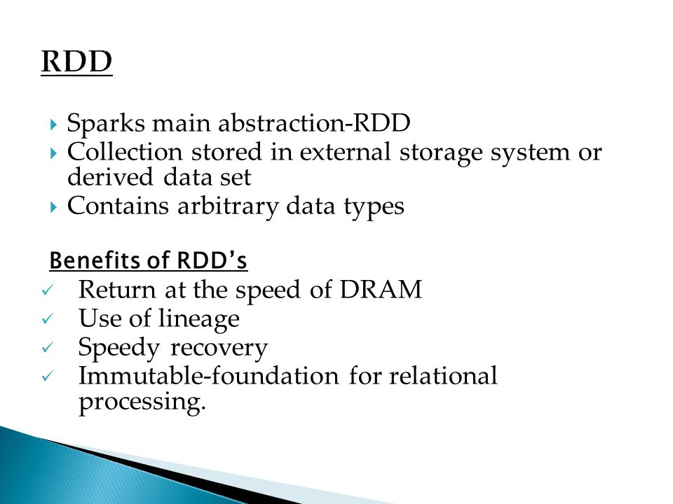 RDD Sparks main abstraction-RDD