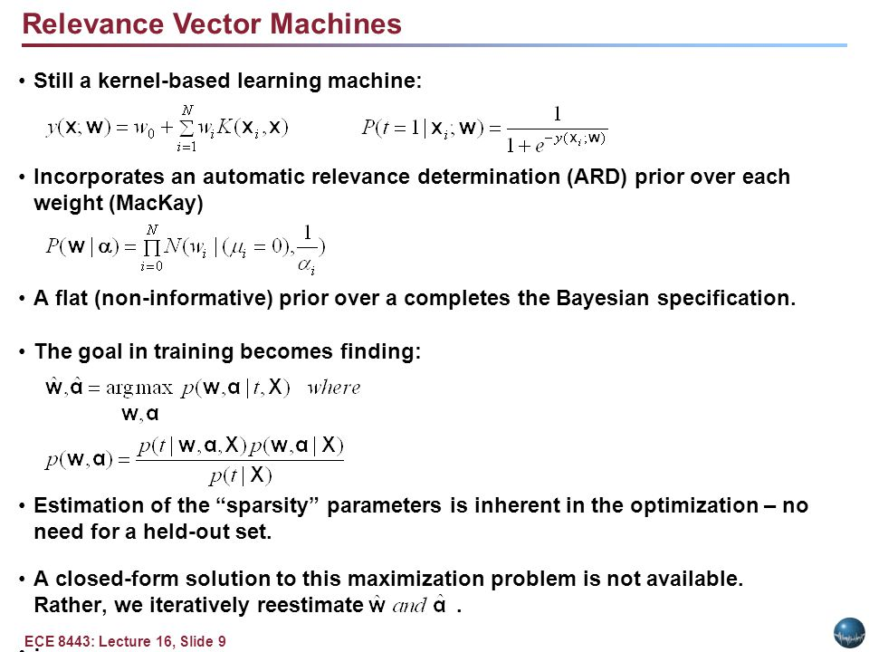 Summary Support Vector Machines are one example of a kernel-based learning machine that is training in a discriminative fashion.