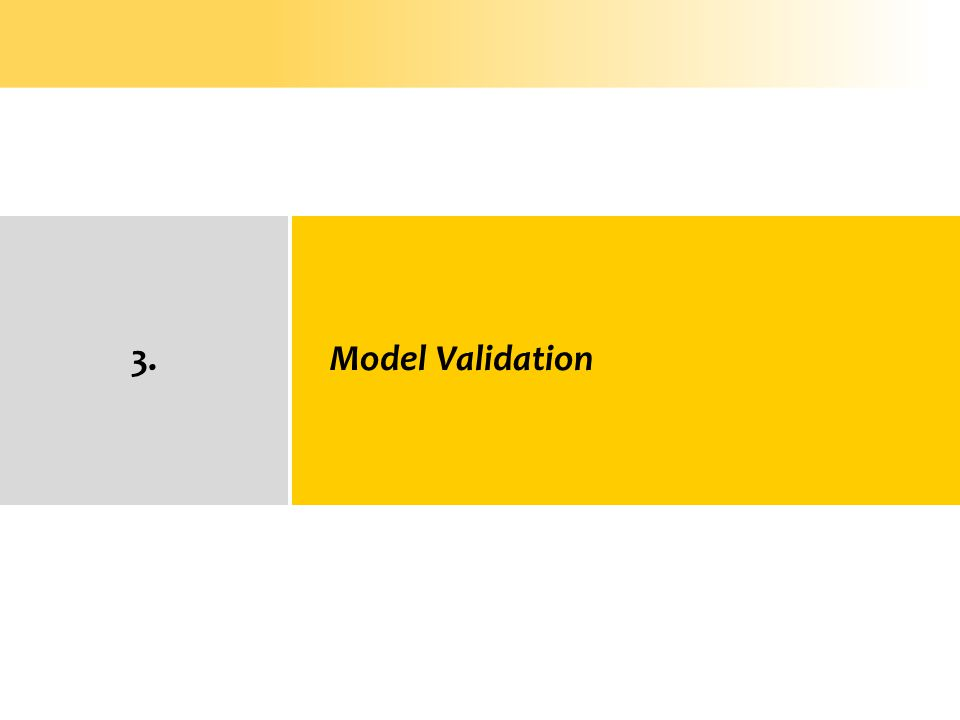 3. Model Validation