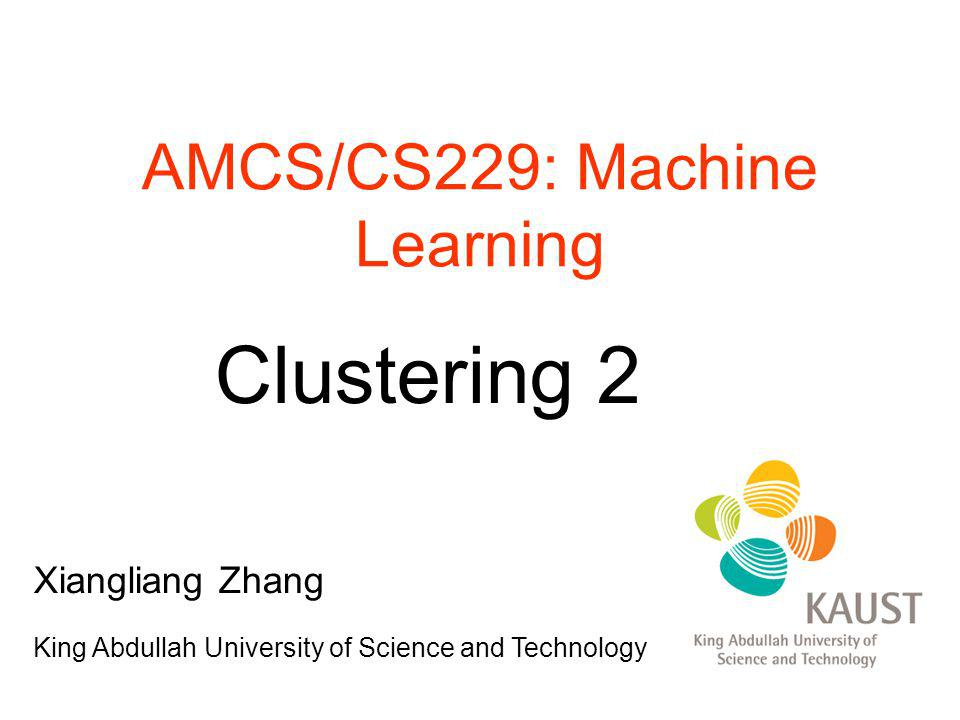 AMCS/CS229: Machine Learning