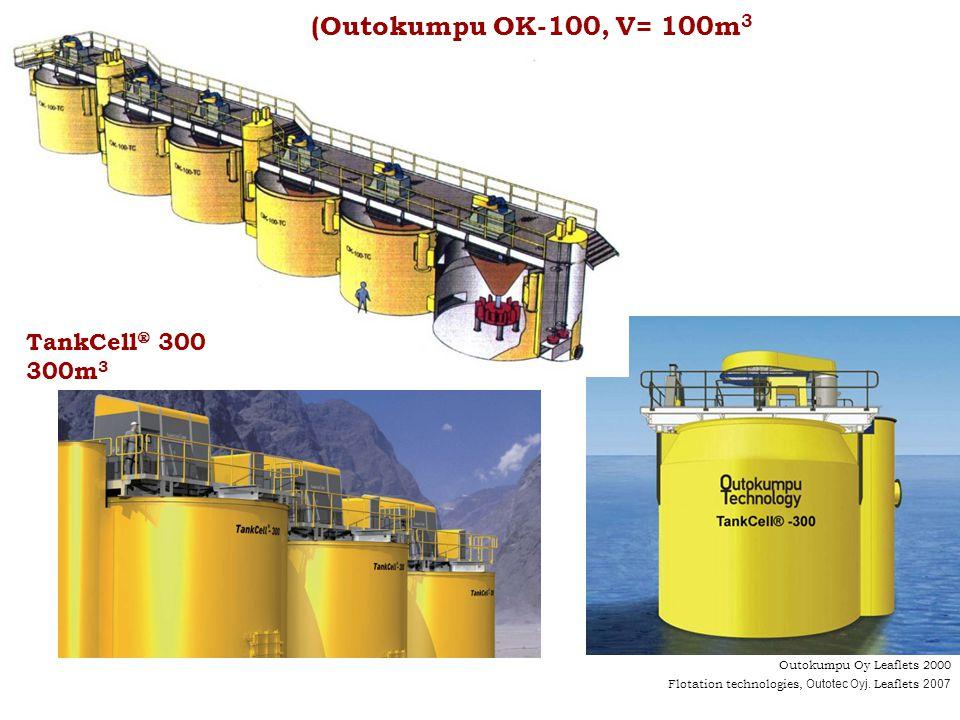 (Outokumpu OK-100, V= 100m3 TankCell 300 300m3