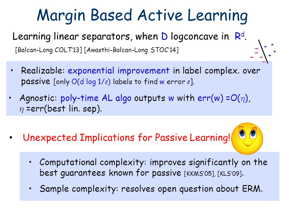 Margin Based Active Learning