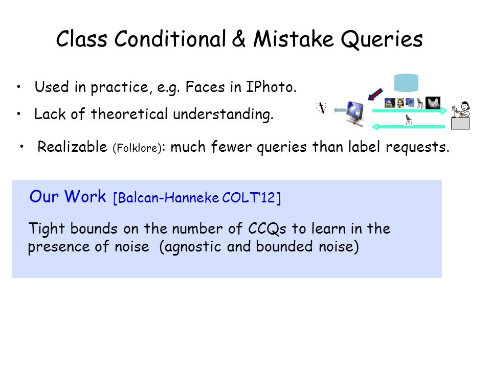 Class Conditional & Mistake Queries