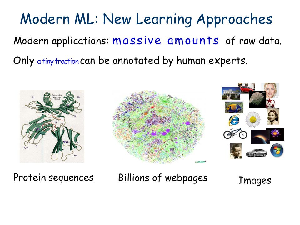 Modern ML: New Learning Approaches