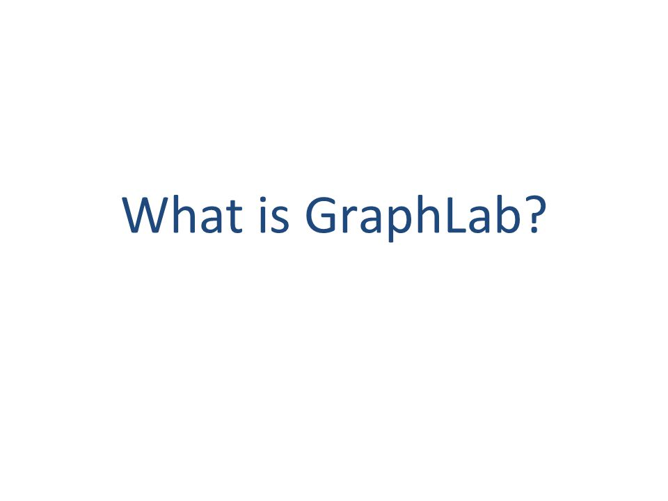 What is GraphLab