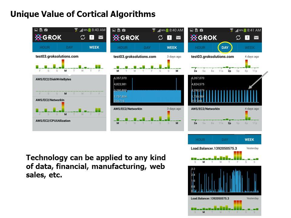 Unique Value of Cortical Algorithms
