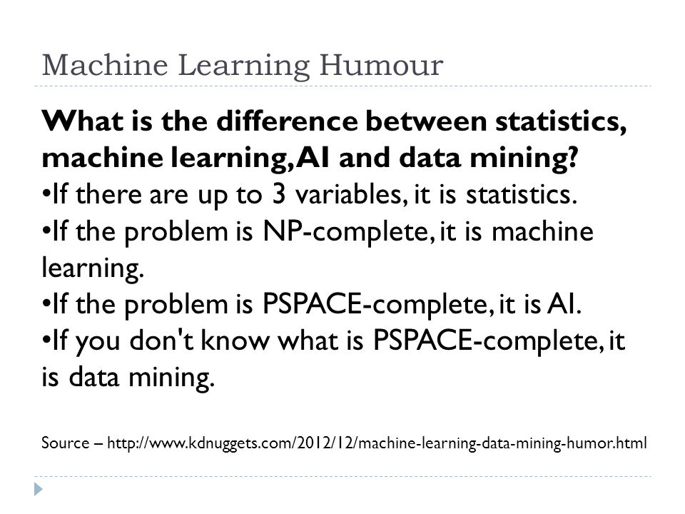 Machine Learning Humour