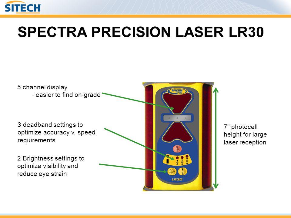 SPECTRA PRECISION LASER LR30