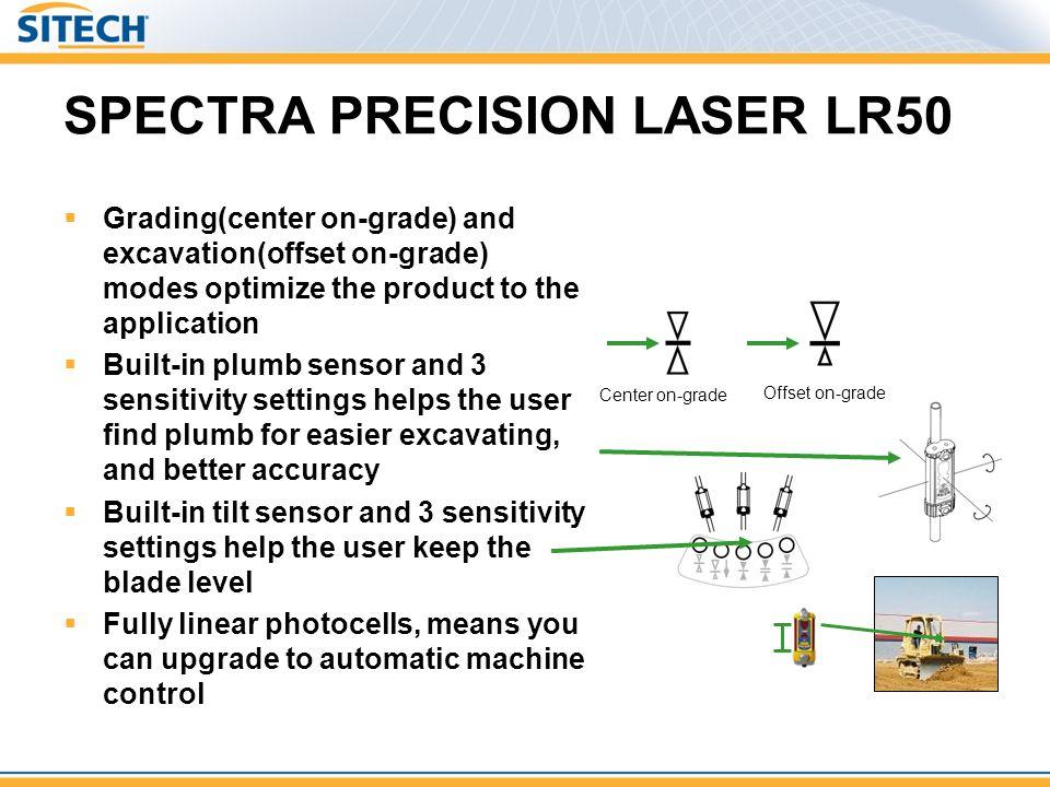 SPECTRA PRECISION LASER LR50