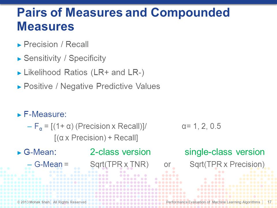 Pairs of Measures and Compounded Measures