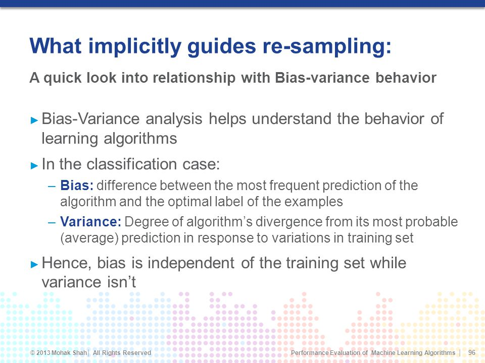 What implicitly guides re-sampling: