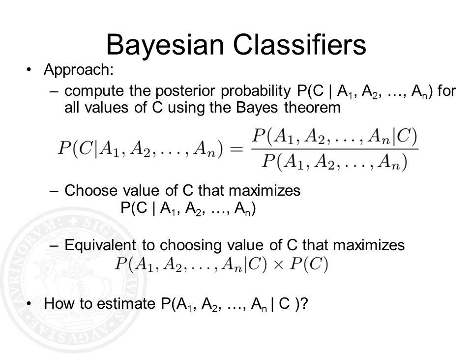 Bayesian Classifiers Approach: