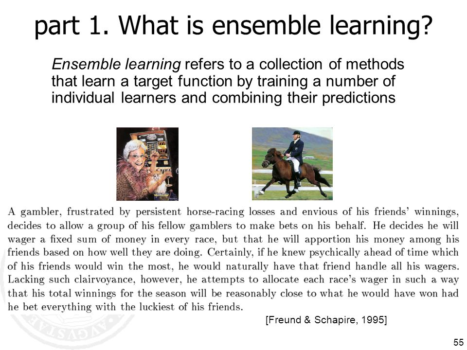 part 1. What is ensemble learning