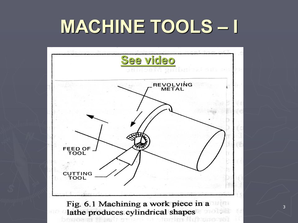 MACHINE TOOLS – I See video