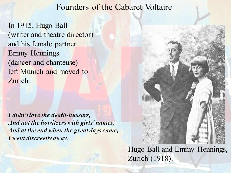 Founders of the Cabaret Voltaire