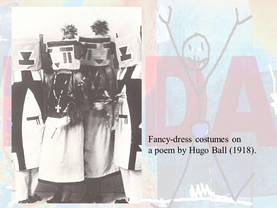 Fancy-dress costumes on