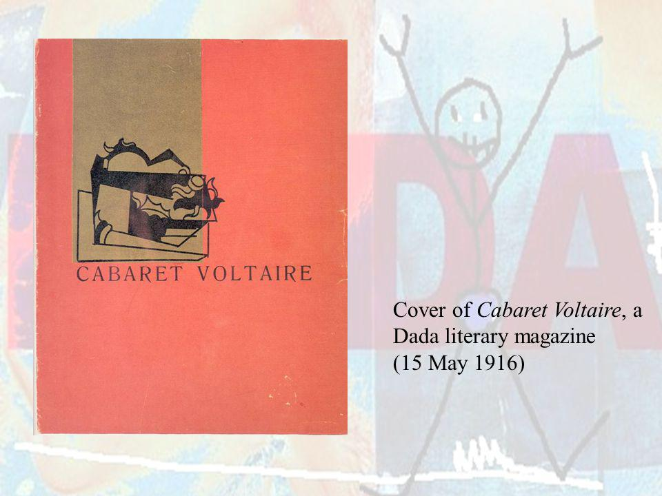 Cover of Cabaret Voltaire, a