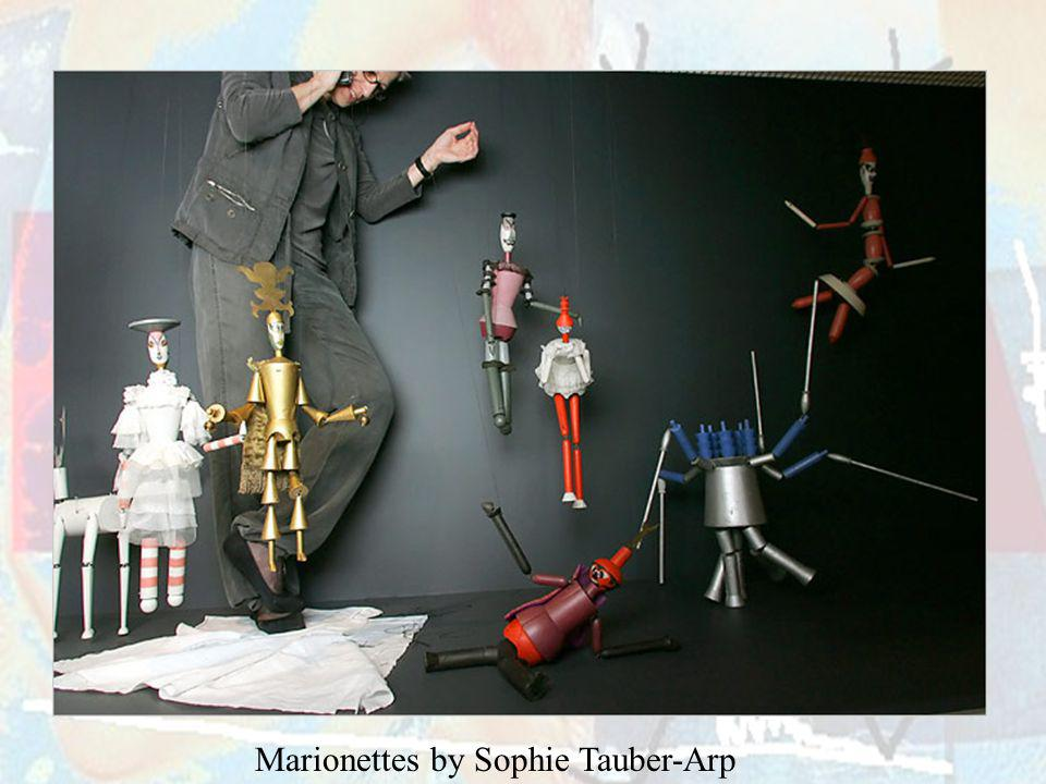 Marionettes by Sophie Tauber-Arp