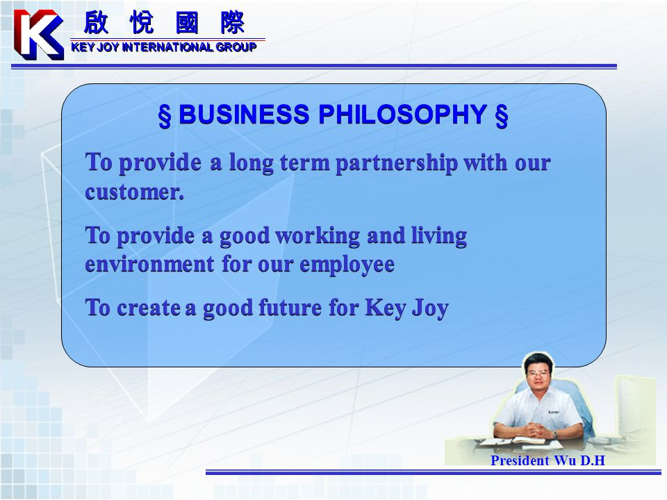 KEY JOY INTERNATIONAL GROUP