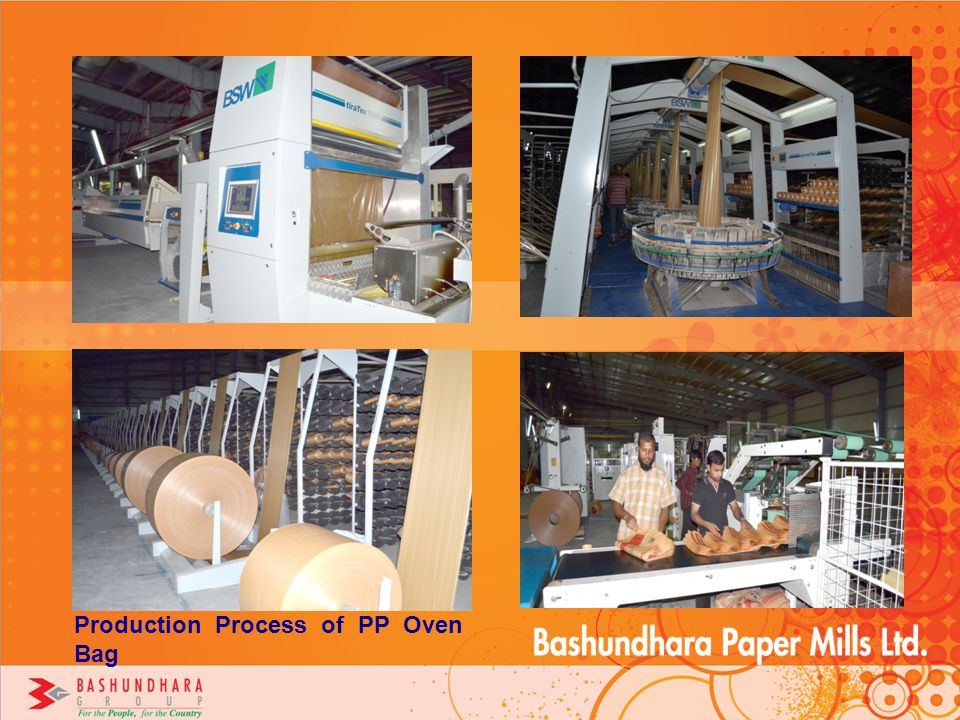 Production Process of PP Oven Bag