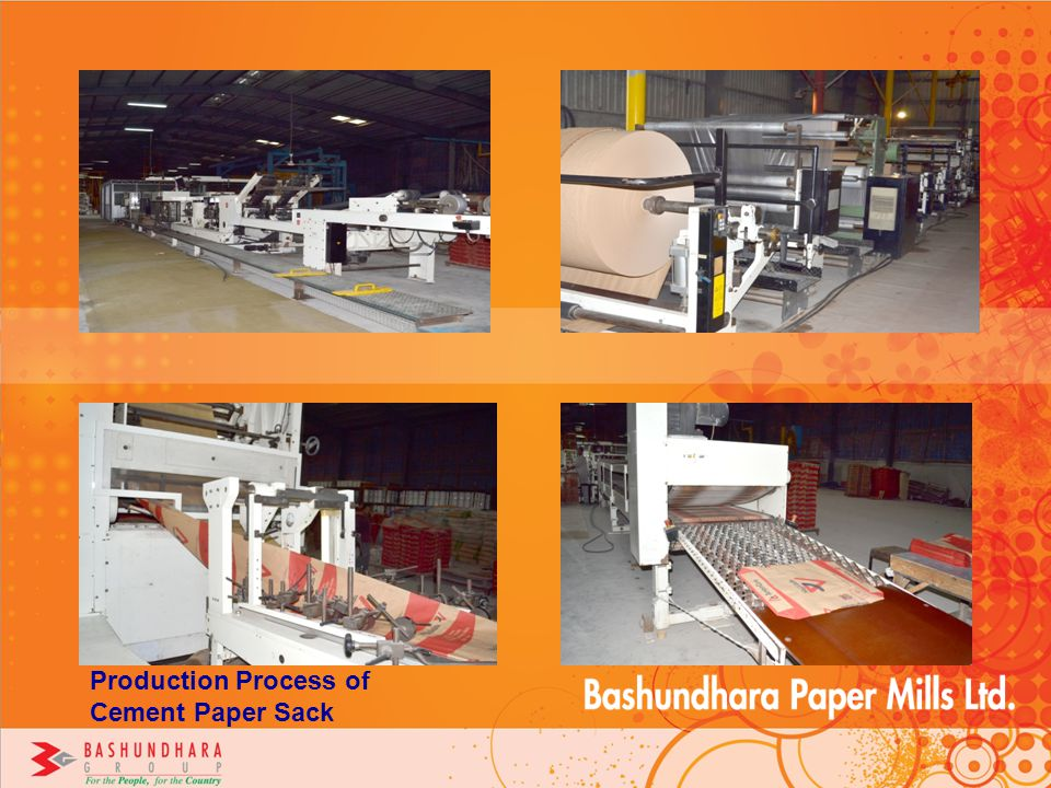 Production Process of Cement Paper Sack