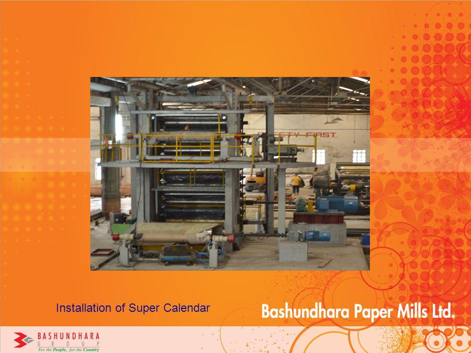 Installation of Super Calendar