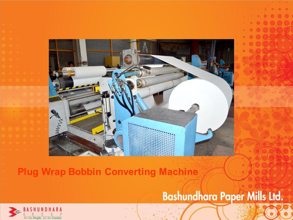 Plug Wrap Bobbin Converting Machine